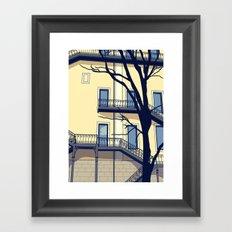 Chiado #1 Framed Art Print