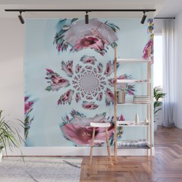 Counting Down With Flowers Wall Mural
