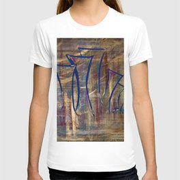 city lights laid out before us T-shirt