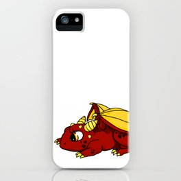 Curious Whelplings - Little Red iPhone Case