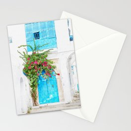 Tunisian door Stationery Cards