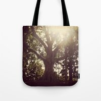 botanical Tote Bags featuring Botanical by radiantlee