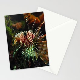 Lion Fish 2 Stationery Cards