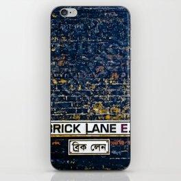 Brick Lane  iPhone Skin