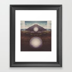 Ocean Islands Framed Art Print