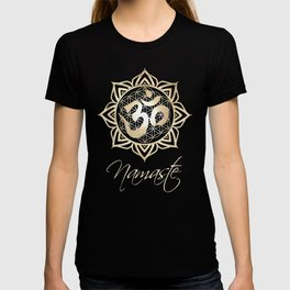 Namaste Lotus Flower of Life Mandala T-shirt