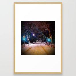 Kelvin Way Framed Art Print