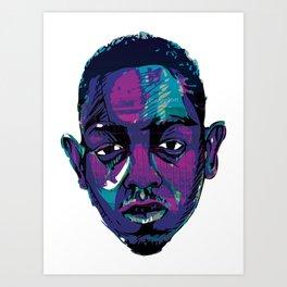 Control - Kendrick Lamar Art Print