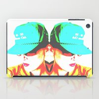 fitness iPad Cases featuring Fitness Club | Pop Art Print by Rhymes With Sky