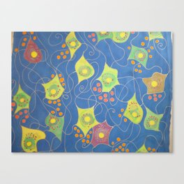 Neuronal forest Canvas Print