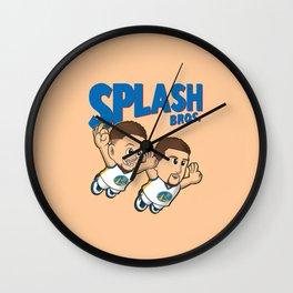 Splash Bros Curry Thompson Wall Clock