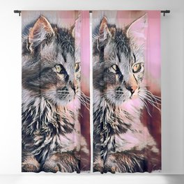 Cute Cat Collection 14 Blackout Curtain