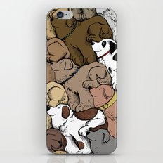 Dog Tessellation iPhone & iPod Skin