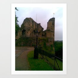 Knaresborough Castle North Yorkshire Art Print