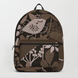Afro Diva : Brown Sophisticated Lady Backpack
