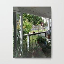 Porch Day Metal Print