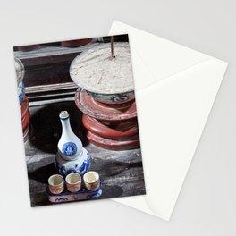 Vietnam monastery Stationery Cards