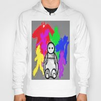 big hero 6 Hoodies featuring Big Hero 6  by grapeloverarts