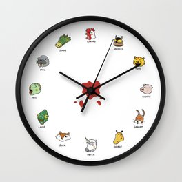 Hotline Kawaii Wall Clock