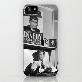 John F Kennedy iPhone Case