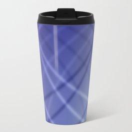 Blue Background Travel Mug