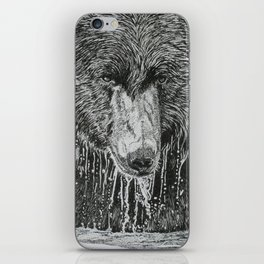 water bear iPhone Skin