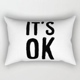 IT'S OK Rectangular Pillow