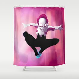 Spider Gwen Shower Curtain