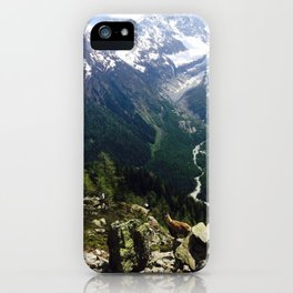 A View of Mont Blanc iPhone Case
