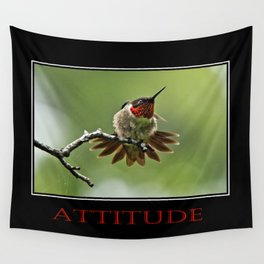Inspirational Attitude Wall Tapestry