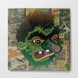 Troll Head Metal Print