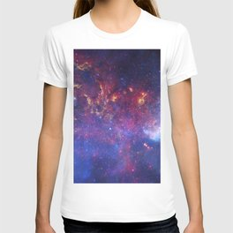 the milky hand of the spiral | space #10 T-shirt