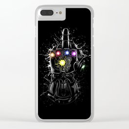 Infinity Fuck Clear iPhone Case