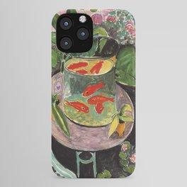 Henri Matisse Goldfish 1911, Goldfishes Artwork, Men, Women, Youth iPhone Case