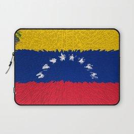 Extruded flag of Venezuela Laptop Sleeve
