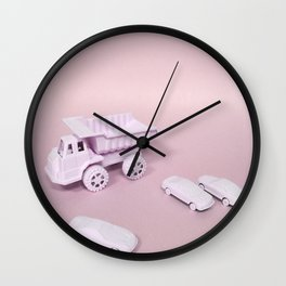 Child's Play - Pink Wall Clock