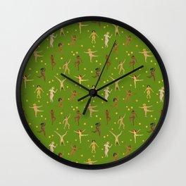 Dancing Nudes Wall Clock