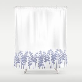 Lavender Field Shower Curtain