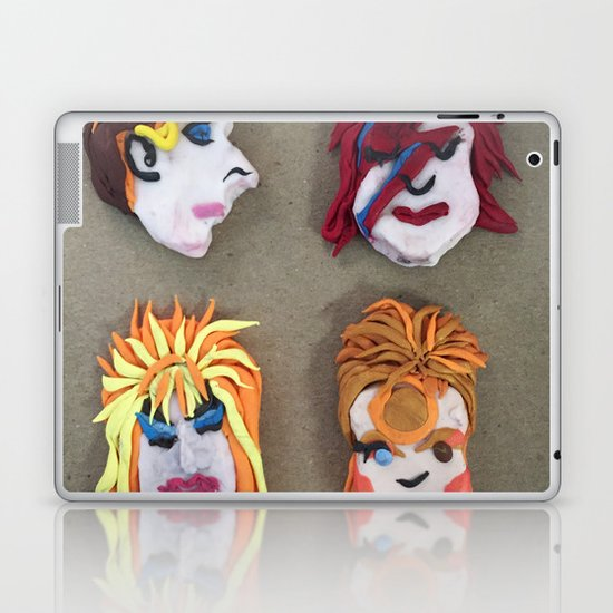 Bowie Lives! Laptop & iPad Skin