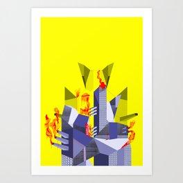 Impossible Architecture  Art Print