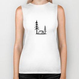Camping Shirt I Outdoor Nature Travel Backpacker Biker Tank