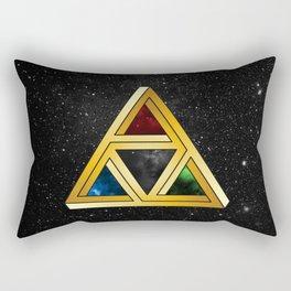 The Tri[llusion] Force Rectangular Pillow