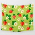 Strawberry pattern by iliveinoctober