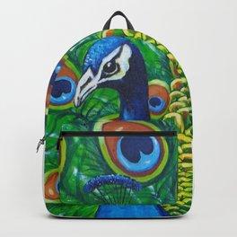 On Display - Peacock Backpack