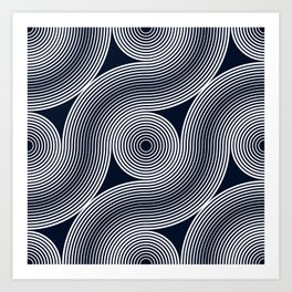 Grid Studies Arc #18_126 Art Print