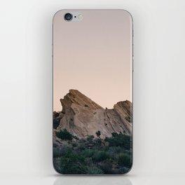Sunset Over Desert Vasquez Rocks iPhone Skin