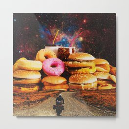 Food in Crime Metal Print