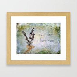 Every Day Framed Art Print