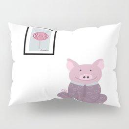 Pig in a Onesie Pillow Sham