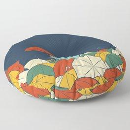 Umbrellaphant Floor Pillow